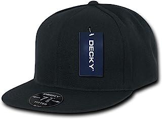 DECKY Black Retro Fitted Baseball Caps