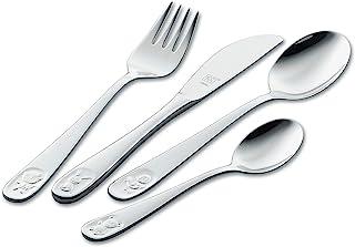 ZWILLING 双立人 儿童餐具4件套 07009-210 Bino 18/10不锈钢材质,适用于3岁以上儿童