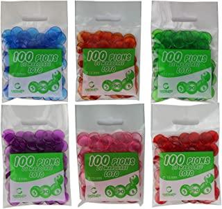 Cardaloto-50 包 100 个 Loto 标记别针,ACJP15,多色
