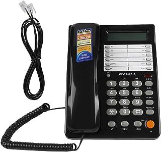 有线电话有线桌面墙壁电话 DTMF/FSK 座机电话 适用于家庭酒店办公室