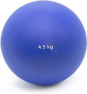 Crown Sporting Goods 4.5 千克(9.92 磅)室内投球球 - 室内田径和田径质量投球 适合室内练习和重量训练 男女