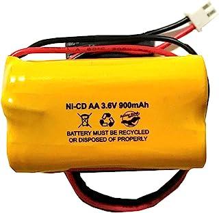 Unitech AA900MAH 3.6V 6200RP 6200-RP Exitronix 10010037 Lowes 253799 TOPA 3.6v 900mAh Ni-CD 电池组替换件 适用于出口标志 应急灯 火焰 电池鹰 有限公司