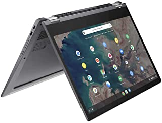 Lenovo 联想 Chromebook Flex 5 13.3英寸(约33.78厘米)2合1触摸屏笔记本电脑,i3-10110