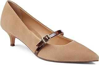 Vionic 女士套装 Minnie Mary Jane 高跟鞋 - 女士小猫高跟鞋,带隐藏式*足弓支撑