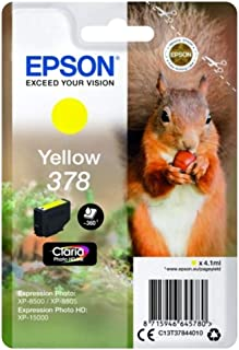 Epson爱普生原装墨盒 Yellow 378