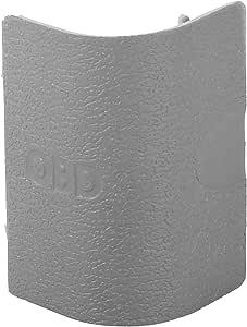 X AUTOHAUX 51437243111 汽车前左 OBD 插头盖灰色塑料适用于宝马 X3 F25 2009-2017