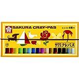 SAKURA 粗款蜡笔 套装 19.8cm×9cm 16色套装