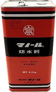 Mino 防水剂 水泥 Mortal防水・防潮 4.5千克
