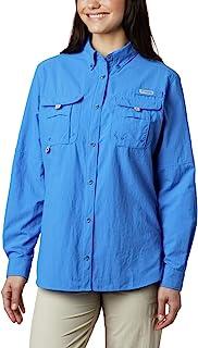 Columbia 女士 PFG Bahama II 长袖透气钓鱼衬衫