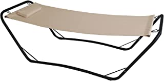 GARDEN FRIEND 吊床支架 Java 钢 PVC 600d - 米色。