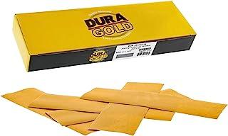 Dura-Gold - 高级 - 1000 砂金 - 细节手工打磨钩和环砂纸纸 22.86 厘米 x 6.86 厘米适用于汽车和木工 - 2.86 厘米