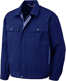Midori * 简约工作服 男女通用 春夏 长袖夹克衫 GS2567 藏青色 SS