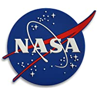 Pinsanity NASA 标志徽章 3D PVC 冰箱磁铁