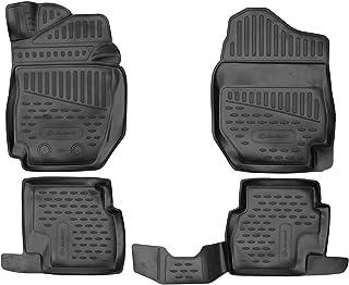 Element EXP.ELEMENT3D01907210kM 3D 定制优质防滑橡胶垫脚垫铃木 Jimny MK5 IV 2018-> 手动变速器,黑色,适合
