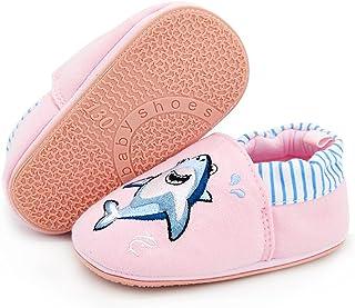 LAFEGEN 女童玛丽珍平底鞋带蝴蝶结防滑软底 PU 皮新生儿学步鞋圆圈正装鞋