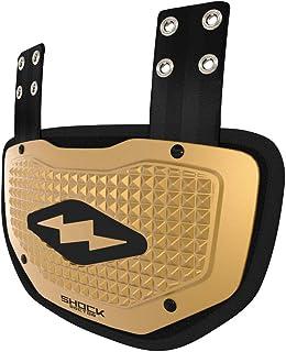 Shock Doctor 橄榄球背板 - 下背/后背骨保护罩底板。 适合青少年、成人、儿童