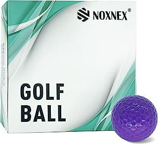 高尔夫标准距离球 2 件套聚氨酯柔软耐用稳定练习高尔夫球(12+4 个球)