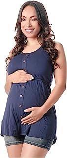 L.O.W.L.A 塑身牛仔裤孕妇短裤婴儿腹部包裹 | 短款 Mujer Embarazada
