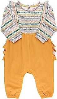 RuffleButts 婴儿/幼儿女孩瀑布连身衣