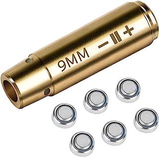 KizmetKare 钻孔瞄准器激光孔眼光红点 .223/9 毫米,用于零点和电池