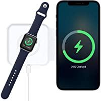 2 合 1 无线 Mag-Safe 充电器,快速充电兼容 iPhone 12 Mini /12 Pro / 12 Pro…