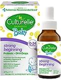 Culturelle 康萃乐 婴儿初生益生元+ DHA滴剂,促进抵抗和吸收系统的发展,有益于大脑和眼部   0.57盎司…