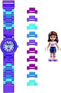 LEGO WATCHES Olivia 儿童 buildable 手表,手链和公仔
