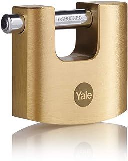 Yale Y114B/70/113/1 快门挂锁,黄铜,70 毫米