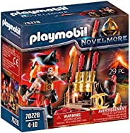 Playmobil 摩比世界 70228 Novmore Burnham烟花骑士 带火箭发射器