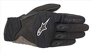 Alpinestars 男士海岸摩托车手套,黑色,中号