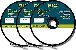 RIO powerflex PLUS FLY fishing tippet 3件装