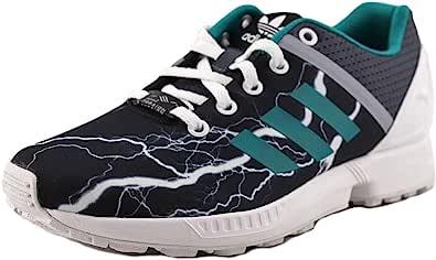 Adidas ZX Flux Split K 青少年 US 3.5 灰色时尚运动鞋