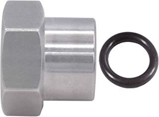 ICT 钢坯 M18-1.5 毫米 Oring 插头/盖适用于高压线接头母头 M18-1.5 Oring 动力转向盖铝 FM1815PLUG