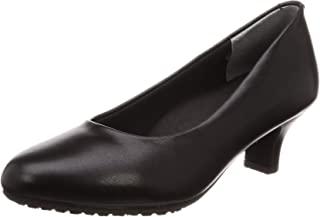 [LadyWarker] 相当于宽幅3E的5cm鞋跟 圆头 平底浅口鞋LO-17060 女式 LO-17060
