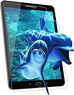 FlexKlearGlass 兼容屏幕保护膜,如果适用三星 Galaxy Tab S2 9.7 英寸高清超清晰 9H 软弹性玻璃平板电脑屏幕保护膜(非钢化玻璃)