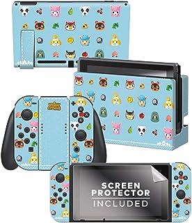 Controller Gear Animal Crossing - Party Animals - Nintendo Switch Skin Bundle - 任天堂官方产品 - Nintendo Switch