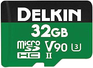 Delkin Devices 32GB Power microSDHC UHS-II (V90) 内存卡 (DDMSDG200032)