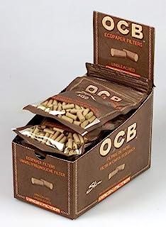 OCB 9200 未漂白的纤细原生过滤器 6 毫米环保 10 个袋子 150 件