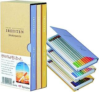 TOMBOW铅笔 彩色笔 颜色词典 *三集 30色套装 30色套装