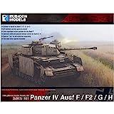 鲁比康模型 1/56 德国军 4号战车 F/F1/G/H型 塑料模型 RB0077