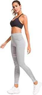 Lilly Posh 女士印花紧身裤全长常规尺码健身裤七分裤