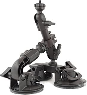 Delkin Devices Fat Gecko 三重吸盘相机支架 (DDMNT-TRIPLE) 黑色