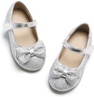 Felix & Flora女童玛丽珍平底鞋童鞋,适合幼儿派对学校