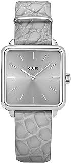 Cluse 女士指针式石英手表带皮革手镯CW0101207018