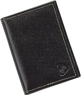 Lewis N. Clark® 中性 射频识别皮质卡身份证包 黑色 均码