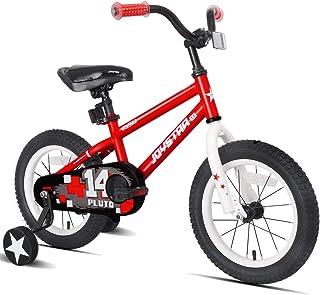 JOYSTAR 12 英寸 Pluto 儿童自行车带轮 适合 2 3 4 岁男孩和女孩,中性儿童自行车,红色