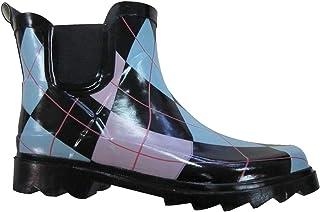 G4U-SBR BS 女士雨靴短踝橡胶花园时尚雪地鞋多种款式 颜色