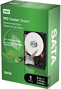 WESTERN DIGITAL 西部数据 WD10000CSRTL GreenPower SATA 硬盘,16MB,1TB,鱼子酱色