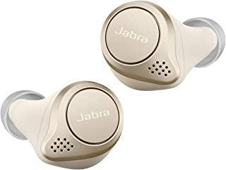 完全无线 耳机 Elite 75t 支持Alexa bluetooth 5.0 降噪麦克风 防尘防滴 IP55 北欧设计 国内正品100-99090002-40-A
