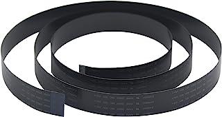 1/2/5/10 Packs Flex 电缆适用于树莓派相机黑色或白色 - 8、10、12、15、20、30、40、50 或 60 厘米(样品包(每个尺寸各 1 根电缆),黑色 30、60 和 100 厘米)